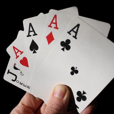 Bold poker announcement crossword