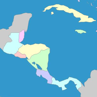 Central American Countries Map Quiz