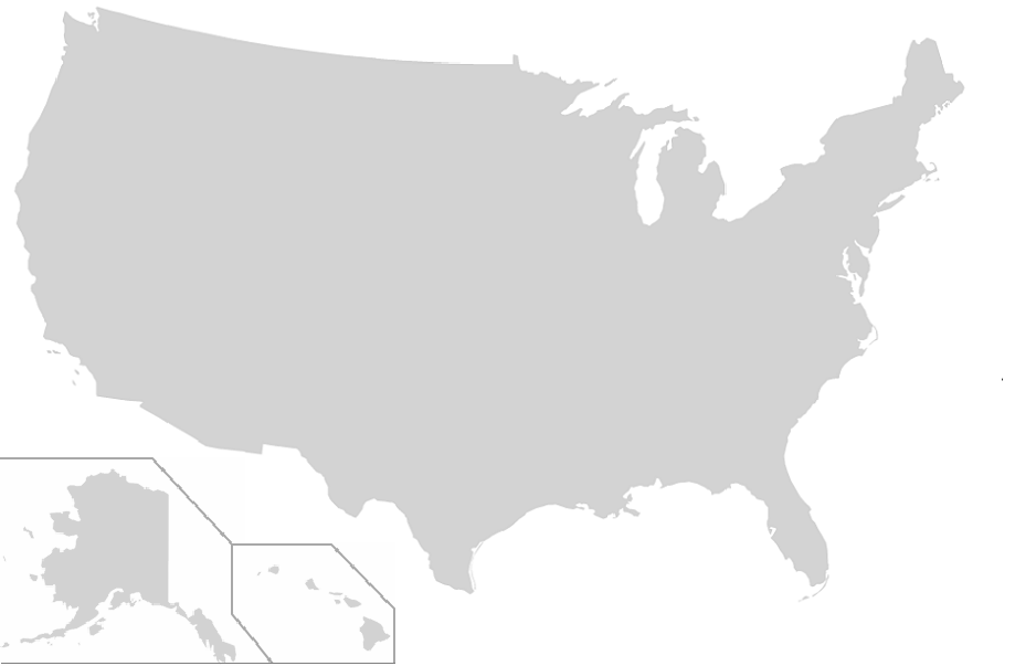 Find The Us States No Outlines Quiz By Mhershfield