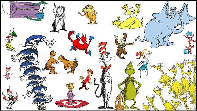 Images Of The Cat In The Hat Characters