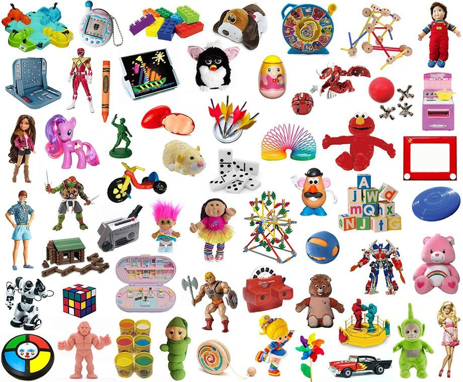 Find The Classic And Famous Toys Quiz