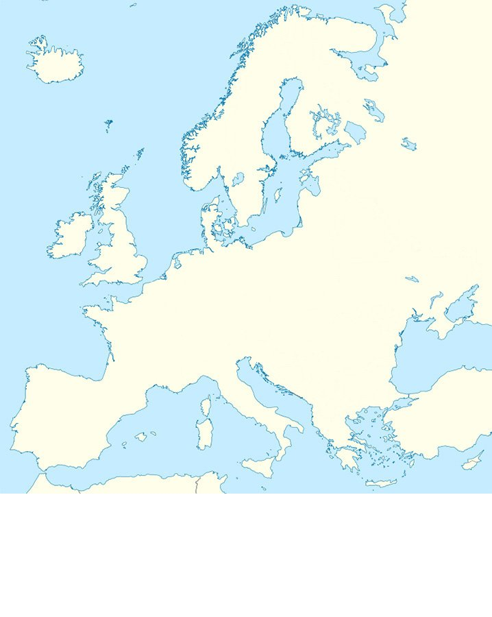 Lets Draw The European Borders MINEFIELD Quiz By Kfastic - Us minefield map