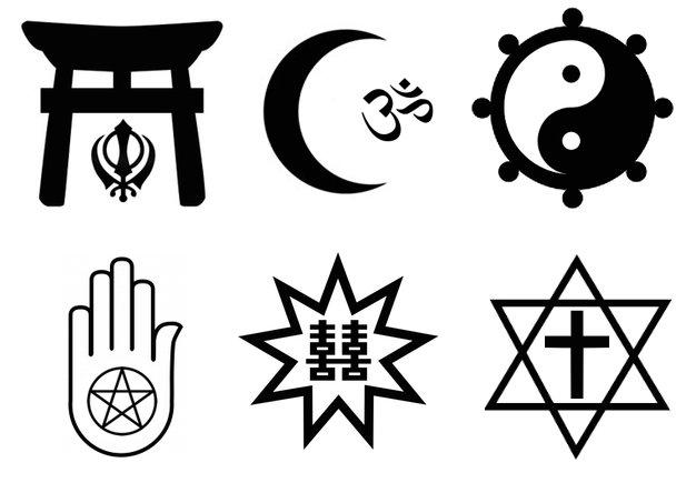 mixed religious symbols quiz