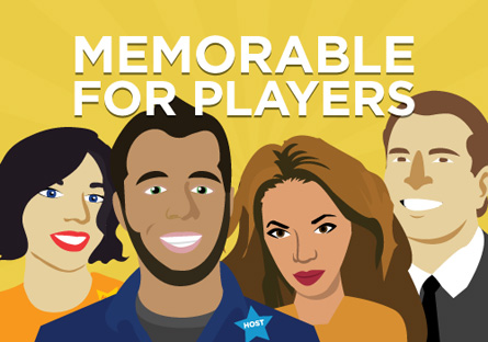 Memorable for Players